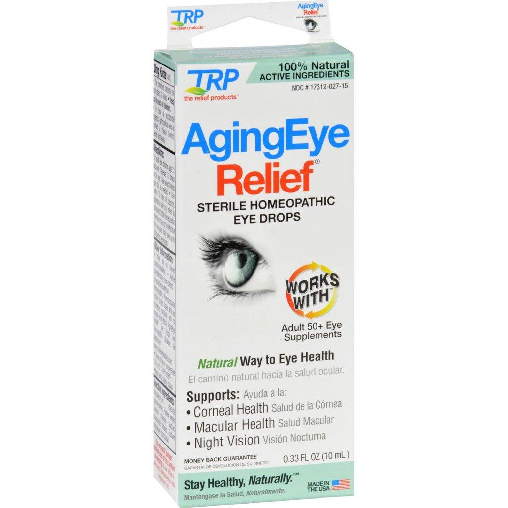 Trp Homeopathic Aging Eye Relief Myeyesupplycom