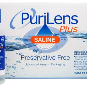 Purilens Plus Saline Case (12 Bottles)