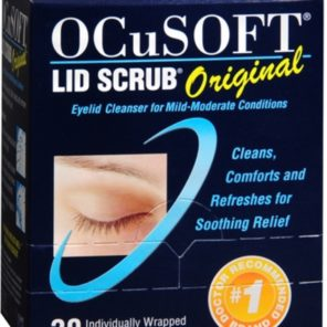 OcuSoft Lid Scrub Original Wipes - 30 Pack