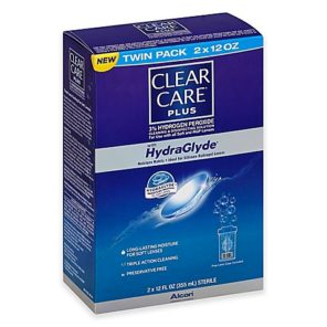 Clear Care Plus 12oz Twin Pack