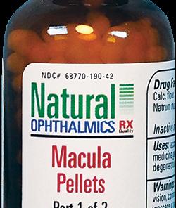 Natural Ophthalmics Macula Pellets
