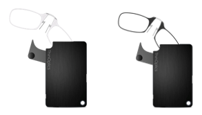 Universal Black FlashCard Case with Reading Glasses