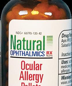 Natural Ophthalmics Ocular Allergy Pellets