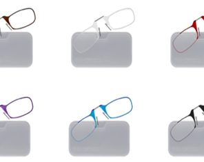Universal Metal Pod White with Reading Glasses