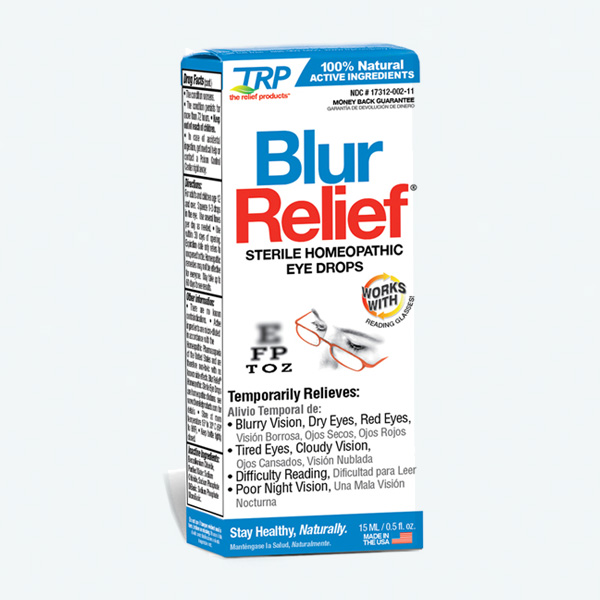 TRP Homeopathic Blur Relief