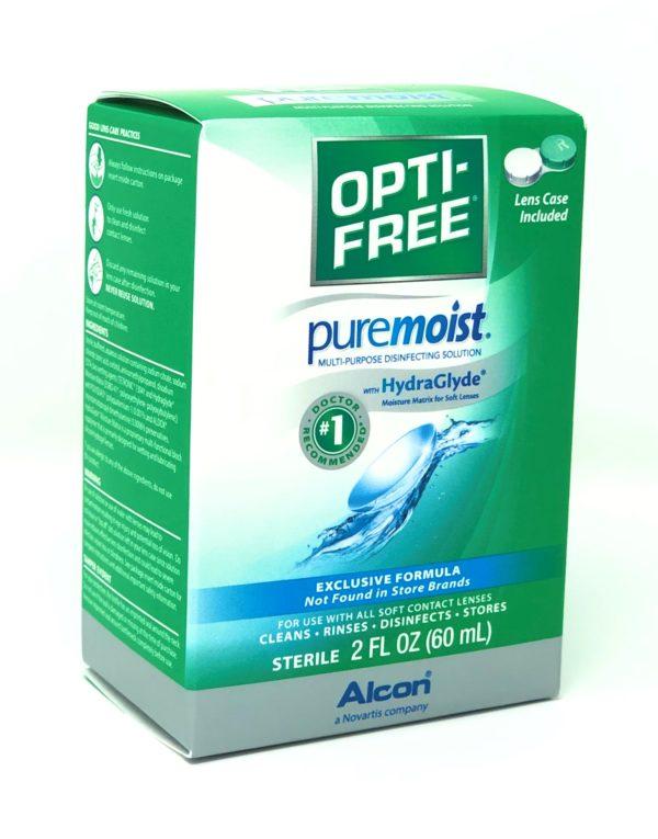 OPTI-FREE Puremoist Multi-Purpose Solution w/ HydraGlyde 2oz