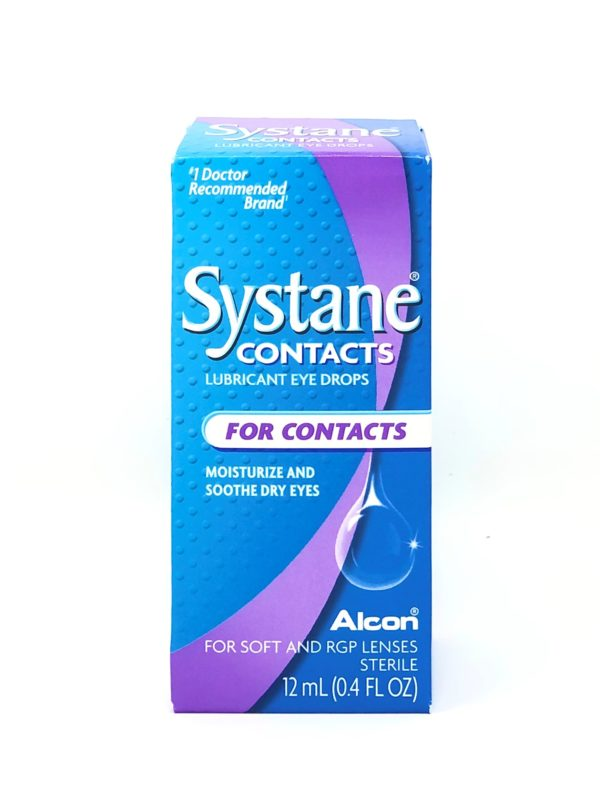 Systane Contacts Lubricant Eye Drops