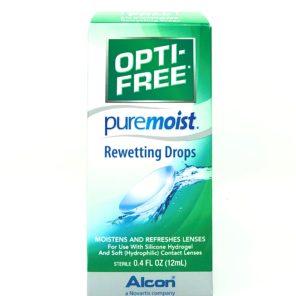 OPTI-FREE Puremoist Rewetting Drops