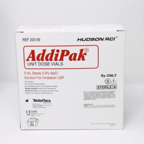 AddiPak Unit Dose Saline vials