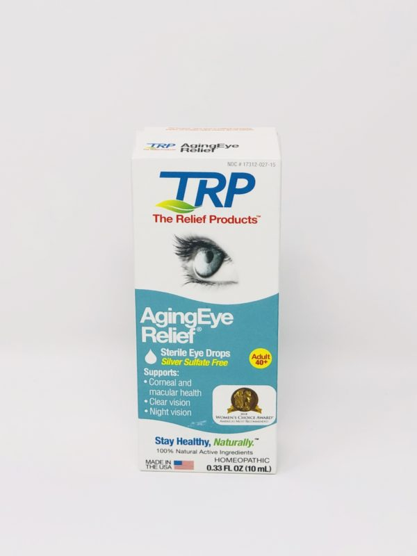 TRP Homeopathic Aging Eye Relief