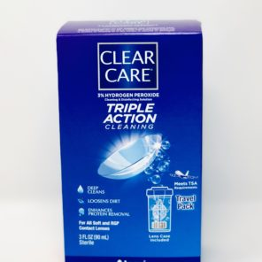 Clear Care 3oz 3% Hydrogen Peroxide Cleaner