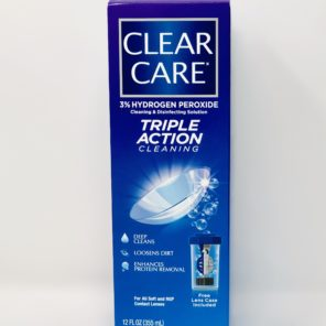 Clear Care 12oz 3% Hydrogen Peroxide Cleaner