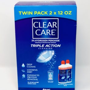 Clear Care 12oz Twin Pack